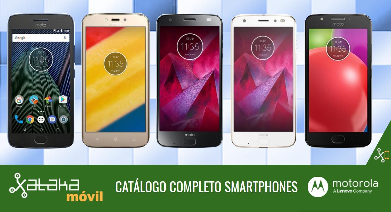 6a7c1a2aad4 Así queda el catálogo completo de smartphones Motorola by Lenovo en sus  gamas Moto Z, G, E y C de 2017