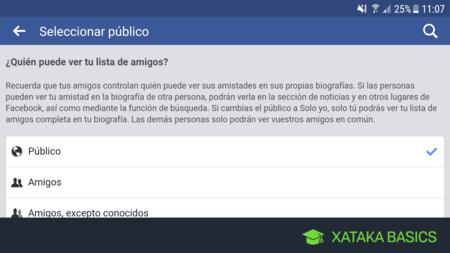 Cómo evitar que otros usuarios vean tu lista de amigos en Facebook