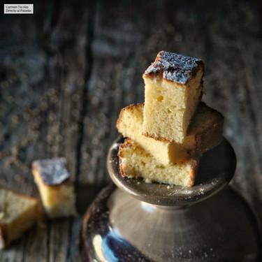 Receta de bizcocho de anís y limón (con sabor a antaño)
