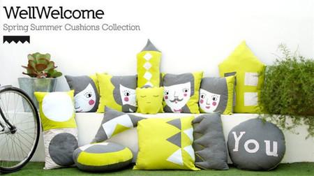 Dale un toque diferente a la decoración de tu casa con los nuevos cojines de Paparajote