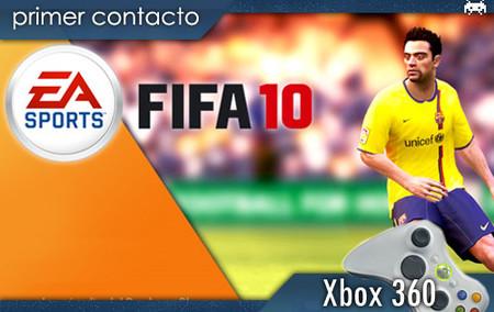 'FIFA 10'. Primer contacto