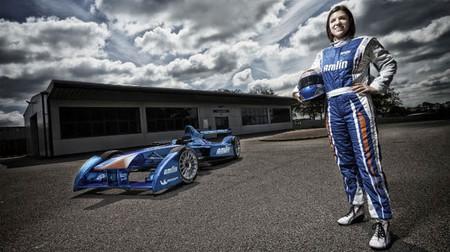 Katherine Legge se convierte en la primera piloto del campeonato Formula E