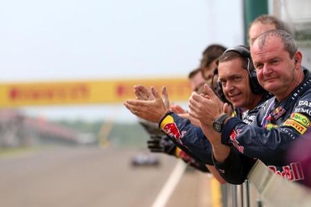 Mi Gran Premio de Hungría 2014: obra de arte de Ricciardo, Alonso y Hamilton