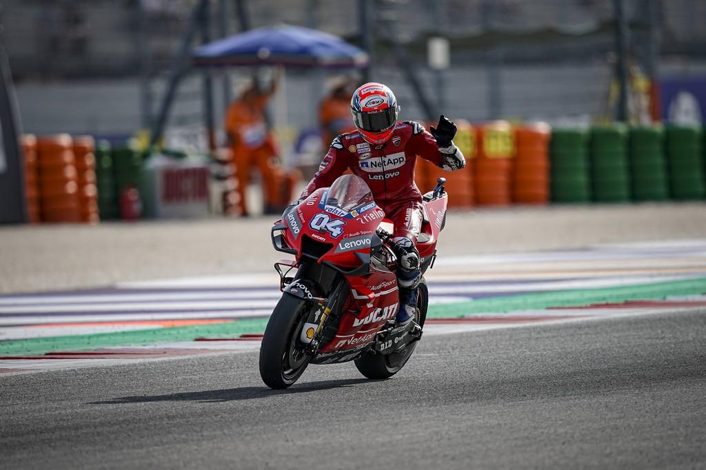 Andrea Dovizioso ha encontrado el límite de la Ducati GP19:
