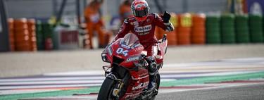 """Andrea Dovizioso ha encontrado el límite de la Ducati GP19: """"A Marc Márquez ya ni le veo"""""""