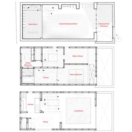 casa skater - planos