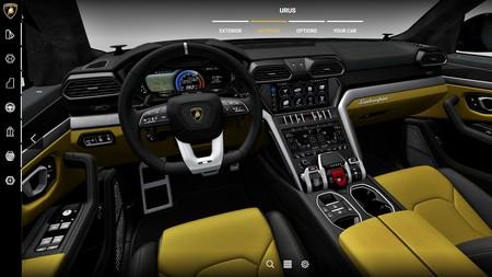Lamborghini Urus 2018 Configurador 2