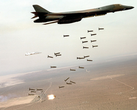 B1 B Lancer And Cluster Bombs