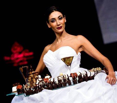 Una novia de pasarela desde Abu Dhabi