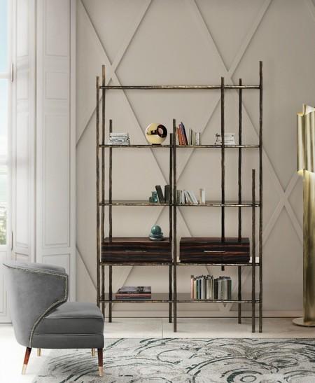129 Mambu Bookcase Ibis Armchair