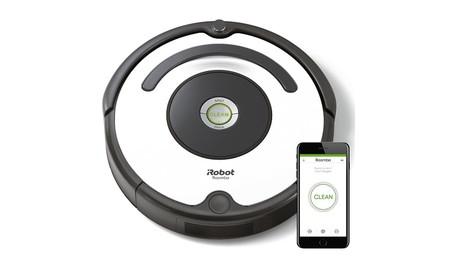 En PcComponentes, el básico robot aspirador Roomba 675 con