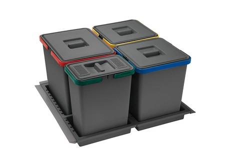 Cubo de basura de cajón