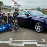 Así es el nuevo coche de carreras de Rolls-Royce
