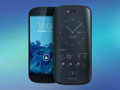 Smartphone con doble pantalla Yotaphone 2 por 99 euros con este cupón