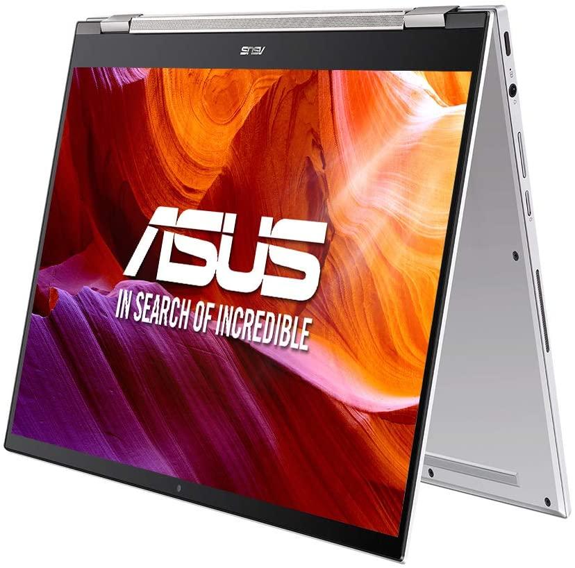 "ASUS Chromebook Flip Z7400FF-E10109 - Ordenador portátil de 14"" FullHD (Intel Core i5-10210U, 16GB RAM, 512GB SSD, Intel UHD Graphics, Chrome OS) Blanco - Teclado QWERTY Español"