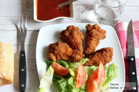Recetas de verano para los peques: muslos de pollo con salsa barbacoa infantil