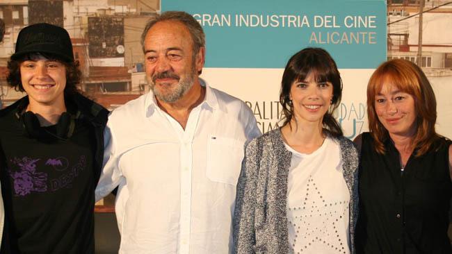 Arón Piper, Tito Valverde, Maribel Verdú y Gracia Querejeta.