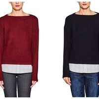 Disponibles en tres colores: jerseys Esprit desde 8,53 euros en Amazon