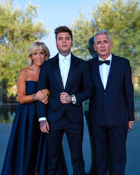 Fedez elige Versace para su boda con Chiara Ferragni