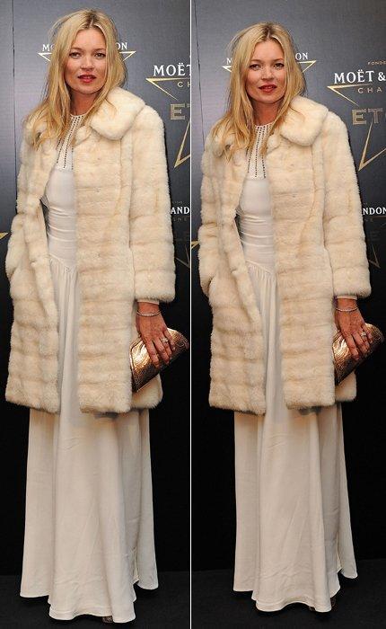 Kate Moss blanco