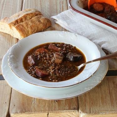 Lentejas estofadas en olla de cocción lenta: consigue el punto perfecto para tus recetas de legumbres usando tu Crockpot
