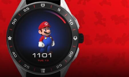 Super Mario ya tiene su propio smartwatch de lujo, es un Tag Heuer de edición limitada que cuesta más de 2.000 dólares