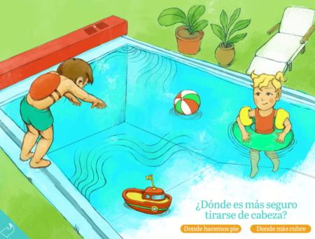"""""""¡Vamos a la pisci!"""" una app para que los más pequeños aprendan normas básicas de seguridad en la piscina"""