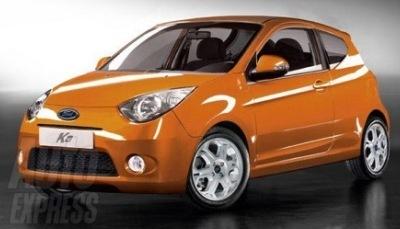 Nuevas recreaciones del Ford Ka