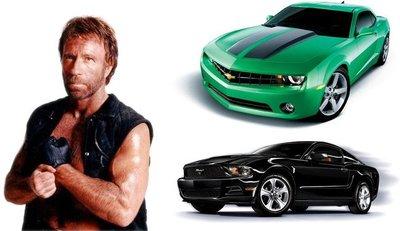El Chevrolet Camaro aumenta su ventaja sobre el Ford Mustang