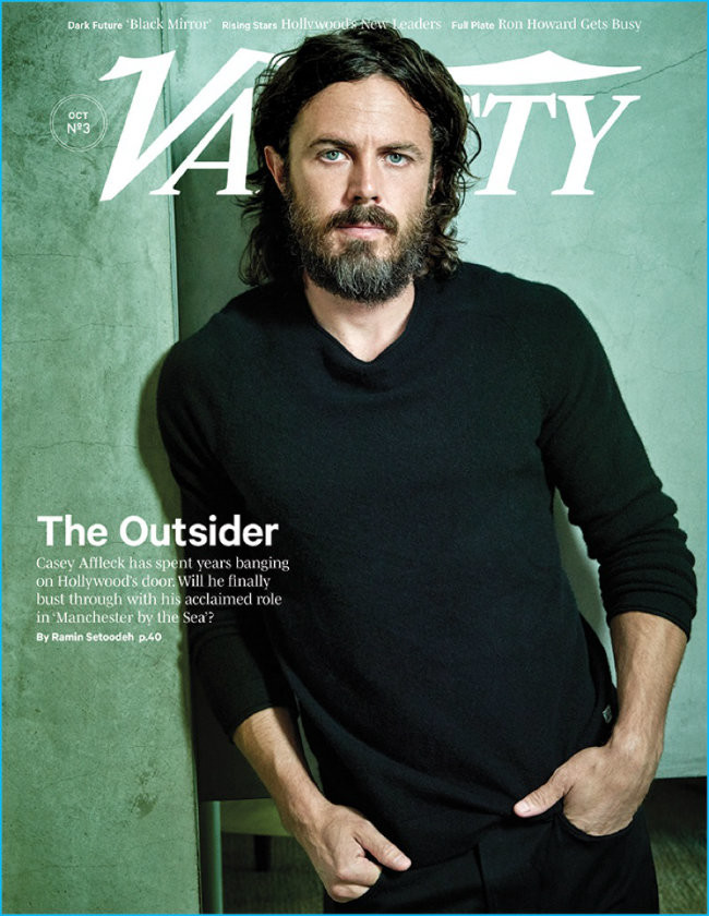 Casey Affleck 2016 Variety Cover