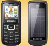 Samsung Crest Solar E1107 con placas solares