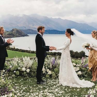 Así ha sido la increíble boda de Nicole Warne, la influencer australiana con más estilo de todos los tiempos