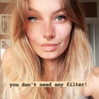 """El último filtro """"beauty"""" de moda en Instagram quiere que dejes de modificar digitalmente tu cara"""