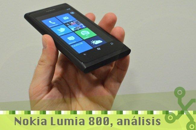 Análisis Nokia Lumia 800