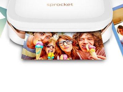 Impresora portátil sin tinta HP Sprocket + Papel por 145,60 euros y envío gratis