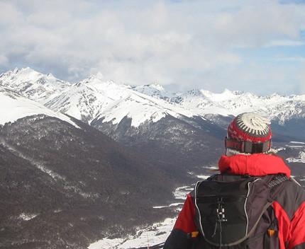 A la nieve en agosto: Cerro Castor (I)
