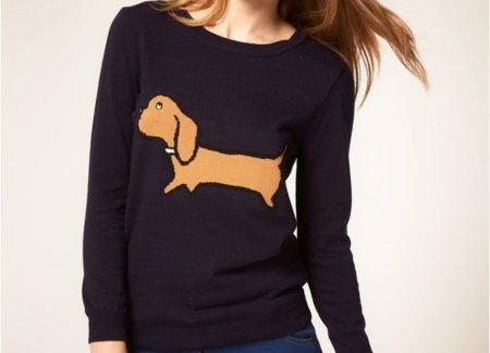 Navidad 2011: un jersey de Teckel... ¡adorable!