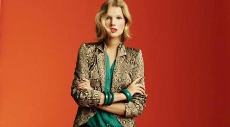Blanco campaña Otoño-Invierno 2011: el estilo de Toni Garrn con una colección en verde