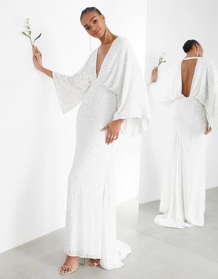 Asos Edition Bridal Novia 07