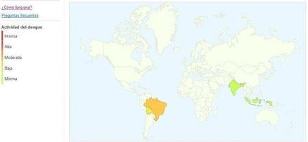 Google Dengue Trends, sigue la evolución de la enfermedad en el mundo