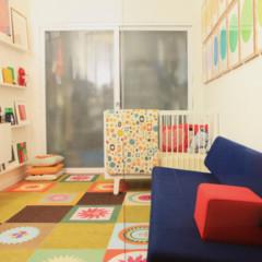 Foto 2 de 9 de la galería piso-retro-de-colores en Decoesfera