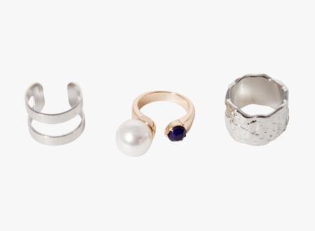 Tous Bright anillo clon Stradivarius