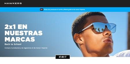 Back to School en Hawkers con 2x1 en gafas de sol hasta fin de mes