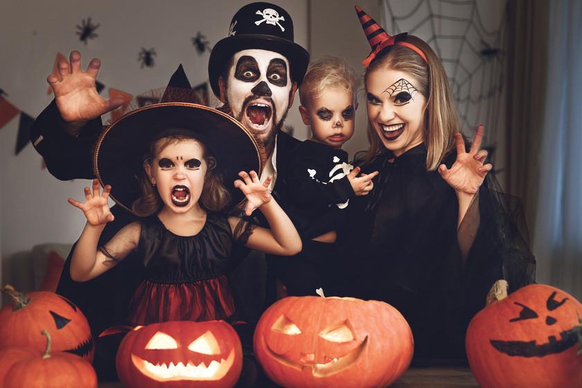 Halloween con niños - Cover