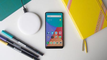Xiaomi Mi Mix 2s cargador inalámbrico