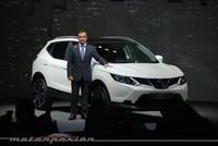Nissan Qashqai 2014, presentación en Londres