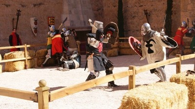 El Campeonato Mundial de Combate Medieval se realizará del 1 al 4 de mayo en el Castillo de Belmonte en Cuenca