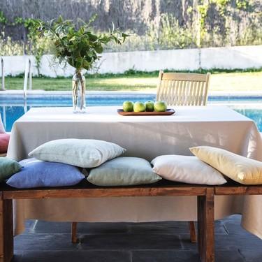 Es tiempo de verano. Es tiempo de disfrutar de las mesas bonitas con los nuevos manteles de Gancedo