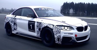 Primer video y aparición del BMW M235i Racing