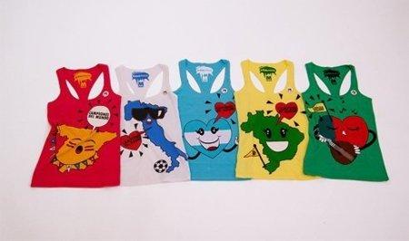 Bershka lanza su colección de camisetas para el Mundial de Fútbol